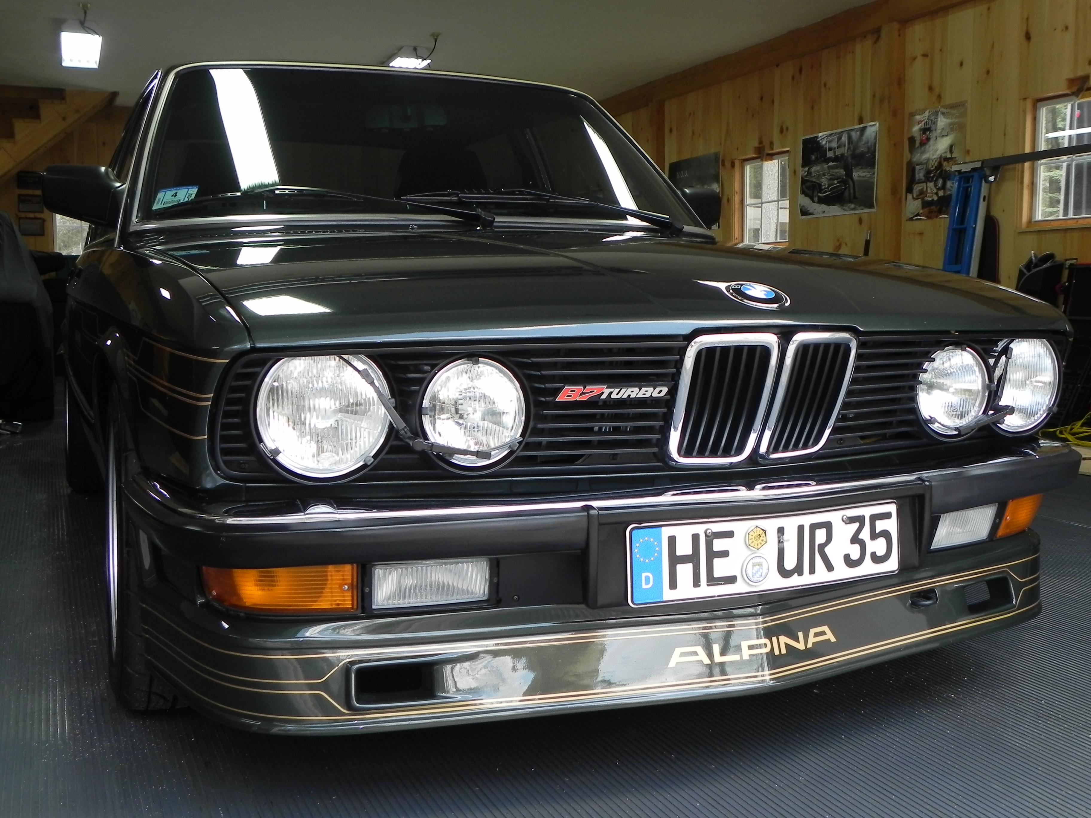 1985 Alpina B7 Turbo 1 Of 4 In North America